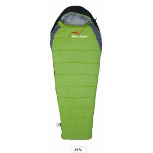 Sleeping bag (4 seasons) - GREEN